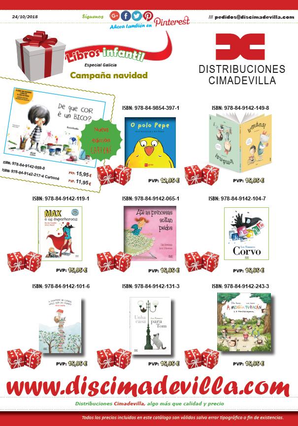 Libros infantil Gallego