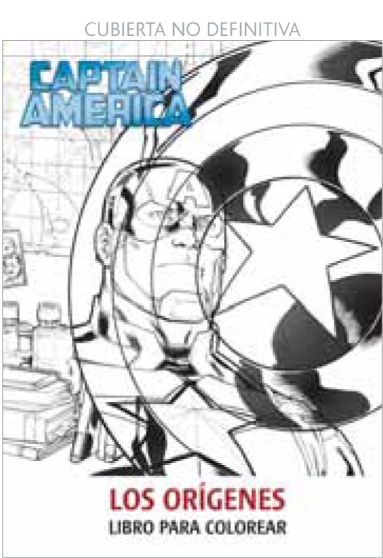 Capitan america. los origenes. libro para colorear - Distribuciones ...