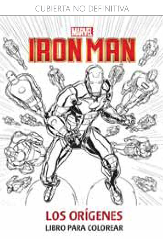 Iron man. los origenes. libro para colorear - Distribuciones Cimadevilla