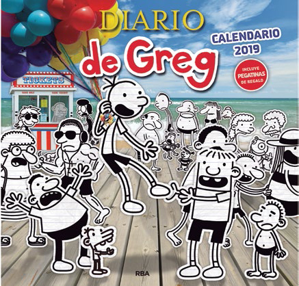 Calendario Zaragozano 2020.Calendario 2019 Diario De Greg Distribuciones Cimadevilla