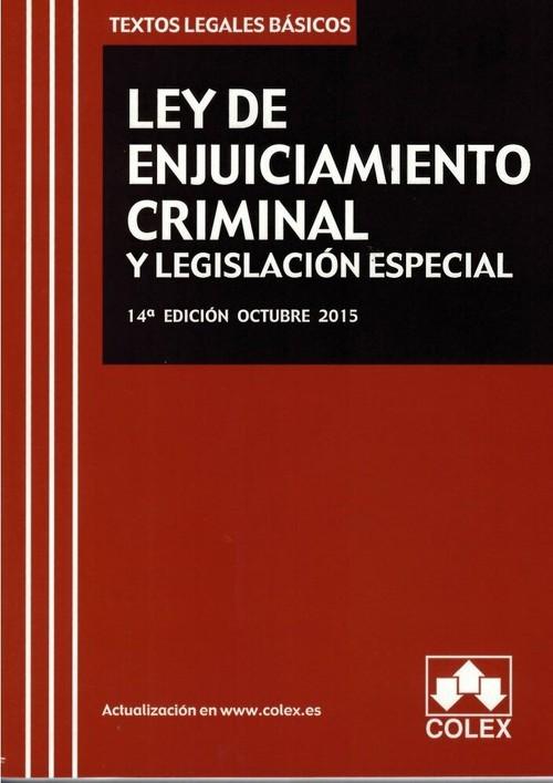 ley de enjuiciamiento penal: