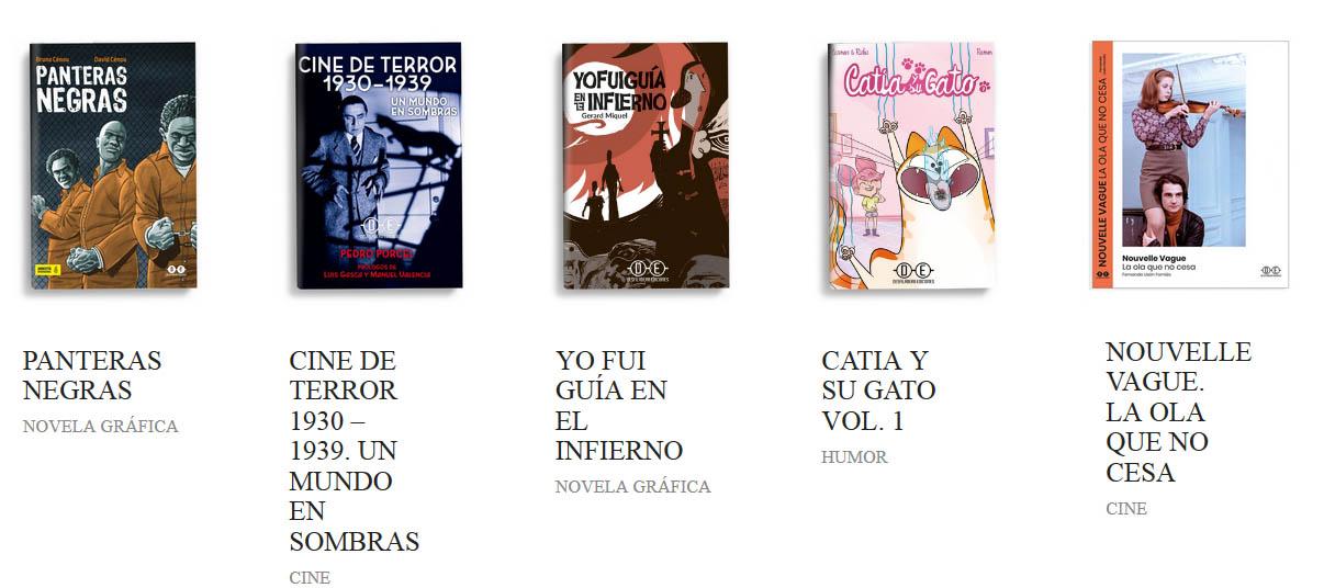 Novedades Desfiladero Ediciones